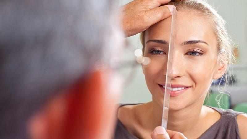 выравнивание перегородки носа