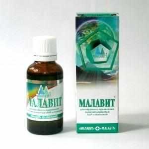 Как лечить горло Малавитом