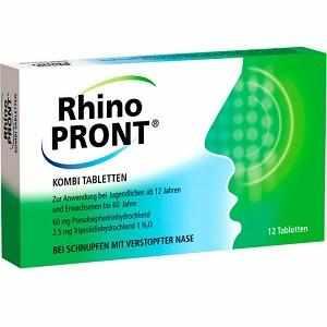 инструкция по применению таблеток ринопронт