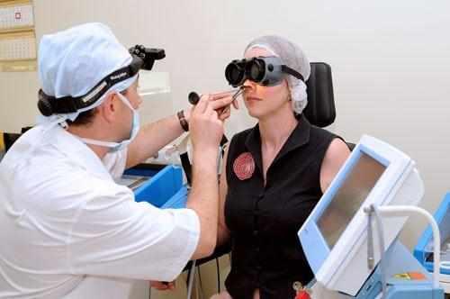 удаление лазером полипов в носу