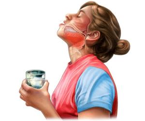 Как полоскать горло содой