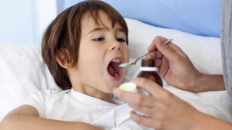 что давать от кашля детям