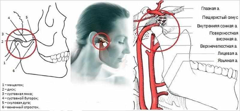 лечение заложенноста уха без боли