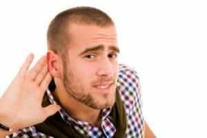 -ухо заложило не слышит