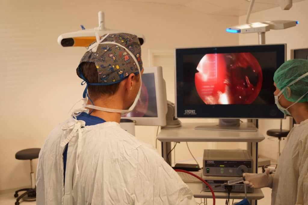 эндоскопические операции в полости носа