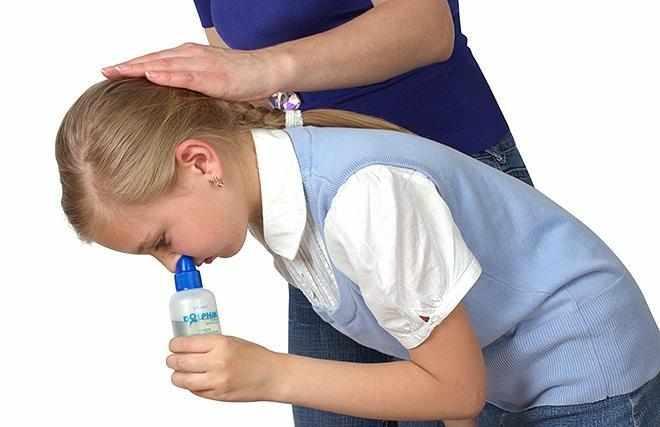 как правильно промывать нос долфином ребенку