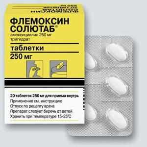Какие антибиотики давать ребенку при ангине