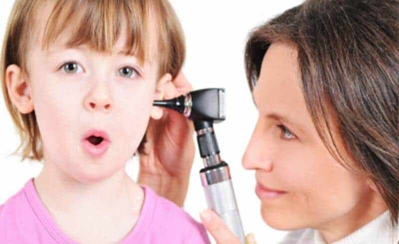 осложнения отита у детей