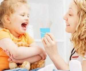 Как лечить тонзилломикоз у ребенка