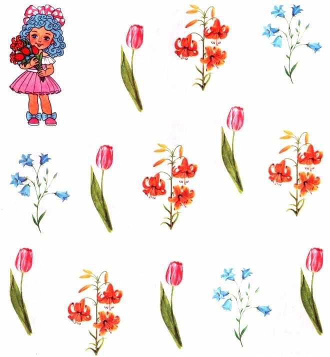 Посчитай цветы