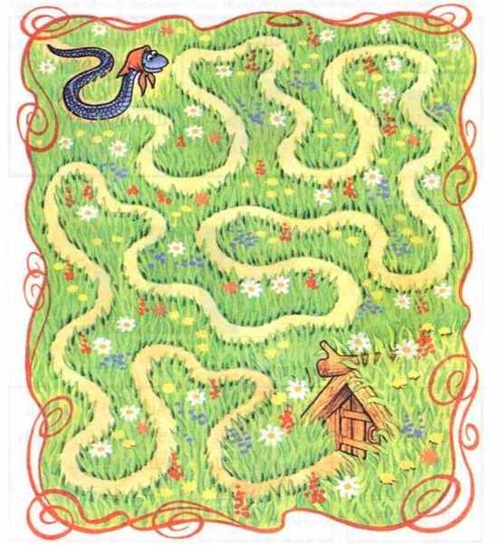 Логопедическая игра Змейка