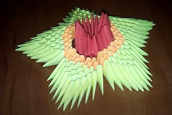 Вечный огонь оригами