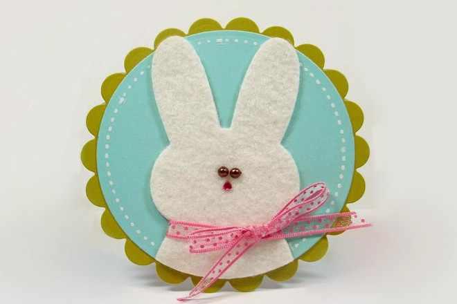Кролик с бантиком