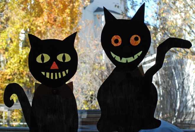 Коты из бумаги