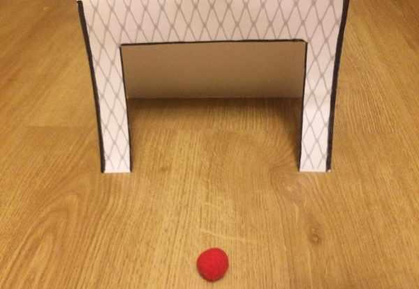 Упражнение Воздушный футбол