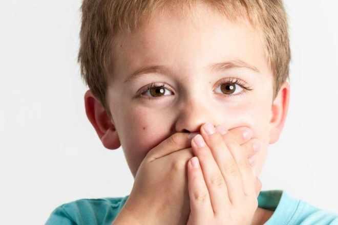 Ребенок невнятно быстро говорит