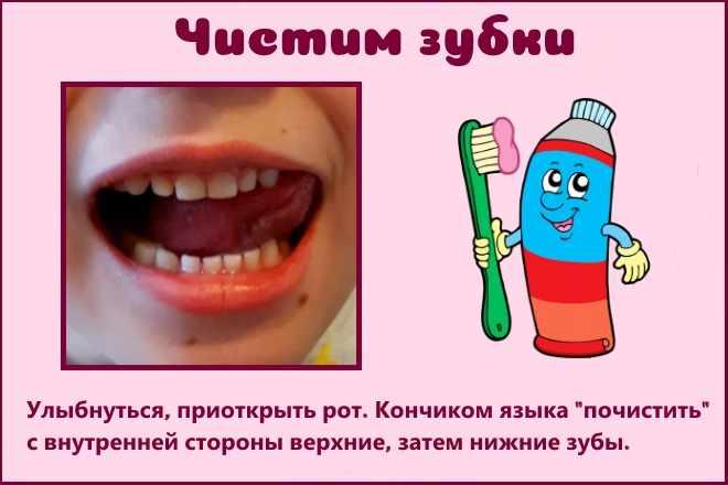 Чистим зубки