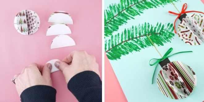 Объемные шарики из бумаги