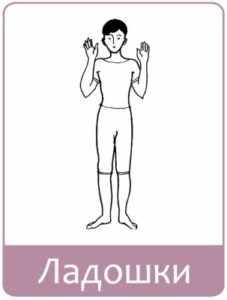 Упражнение ладошки