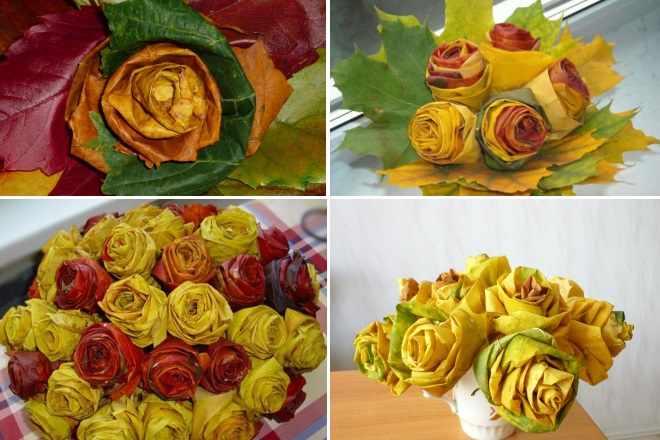 Поделки Розы коллаж