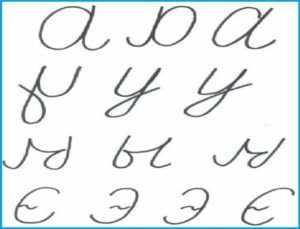 Ошибочные буквы