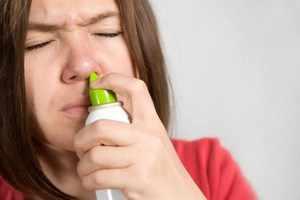 Промывание носа перекисью