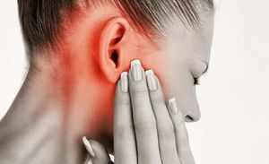 Симптомы воспаления среднего уха