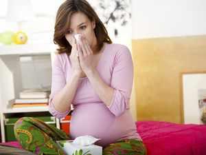 Возможные причины кашля у беременных
