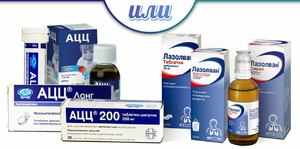 Отхаркивающие муколитические средства от кашля