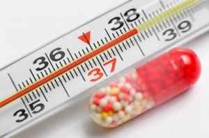 Парацетамол снимает симптомы простуды