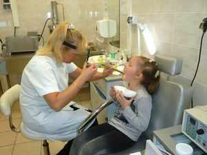 Промывание лакун детям