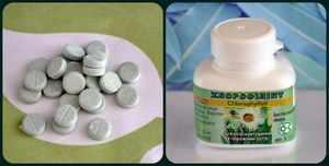 Как применять Хлорфиллипт в форме таблеток