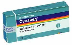 Таблетки сумамед - инструкция по применению