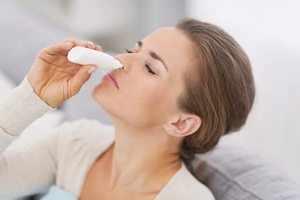 Использование капель в нос