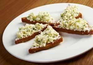 Чесночные бутерброды в лечении кашля