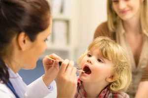 Гипертрофия небных мендалин у ребенка