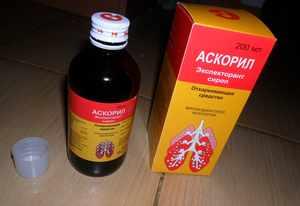 Состав сиропа Аскорила