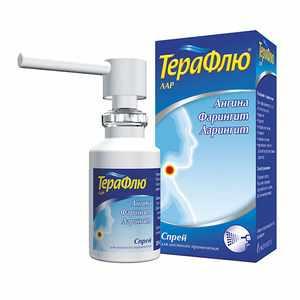 Терафлю для лечения горла