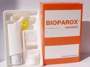 Биопарокс - популярное лекарственное средство