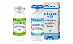 Цефазолин в инъекциях - современный антибиотик