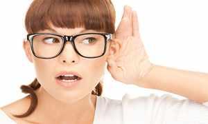 Тест слушания позволяет определить уровень тугоухости пациента