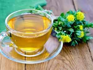 Травяной чай от кашля