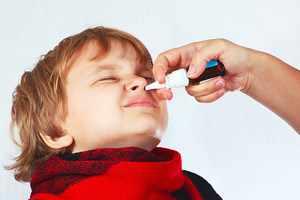 Способ применения спрея Виброцил для детей