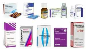 Список самых эффективных противомикробных препаратов
