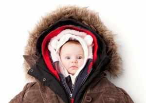 Теплая одежда защищает от простуды