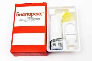 Биопарокс - местный антибиотик при боли в горле