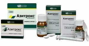 Описание антибиотиков при сухом кашле