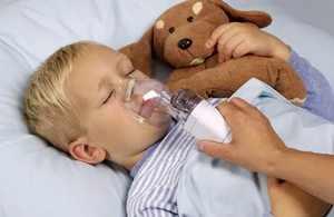 Применение небулайзера для ингаляций детям