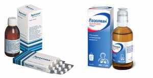 Лекарственные препараты от кашля