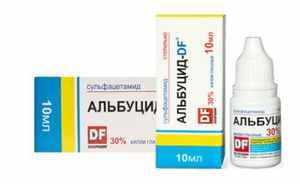 Альбуцид - дозировка, инструкция, показания к применению